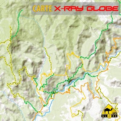 Albanie - X-Ray Globe - 1 : 30 000 TOPO Relief