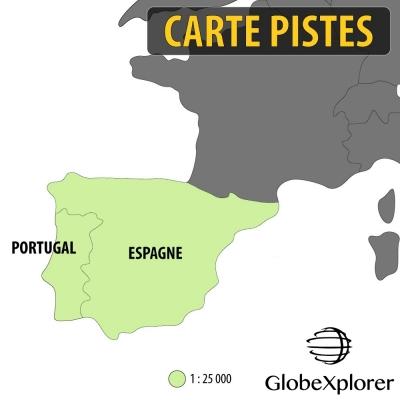 Pack Ibérique : Espagne / Portugal - 1 : 25 000 - GlobeXplorer