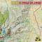 Carte X-Ray Globe de l'Ouganda, carte haute précision pour GPS