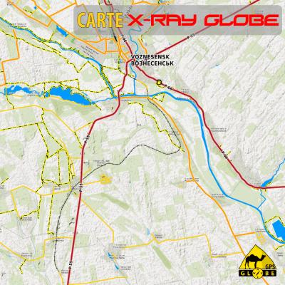 Ukraine X-Ray Globe 1 : 100 000
