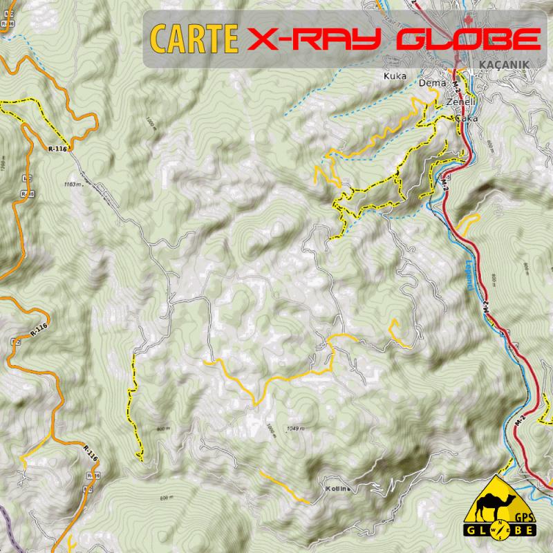 Kosovo X-Ray 1 : 30 000