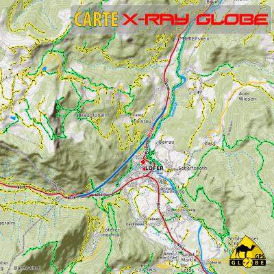 Autriche X-Ray Globe 1 : 30 000