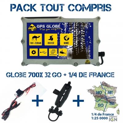 Pack Tout-compris Globe 700X 64Go