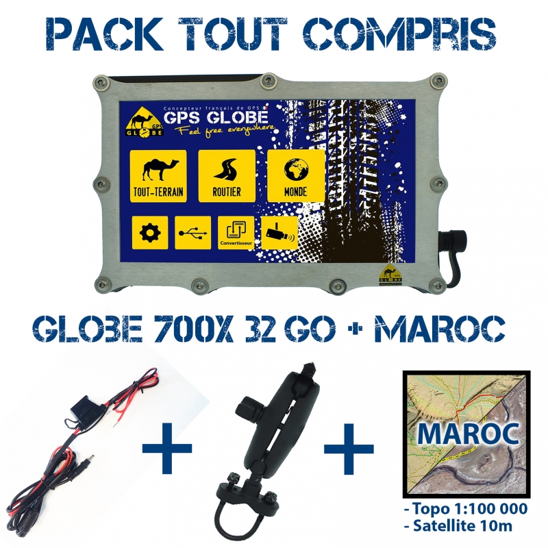 Pack Tout Compris 700X Maroc
