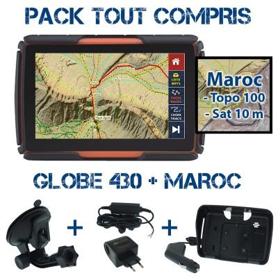 Pack Tout-compris Globe 430 + Maroc