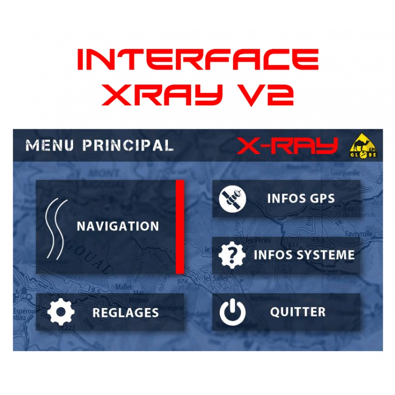 MISE A JOUR INTERFACE X RAY