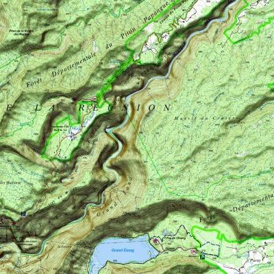 Département Puy de Dome (63) - 1 : 25 000