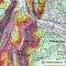 Carte des pentes - Alpes - 1 : 25 000 - GlobeXplorer