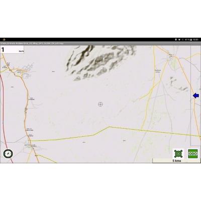 Oman - Emirats Arabes - X-Ray Globe - 1: 30 000 TOPO Relief