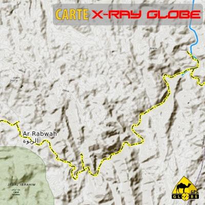 Moldavie - X-Ray Globe - 1 : 30 000 TOPO Relief