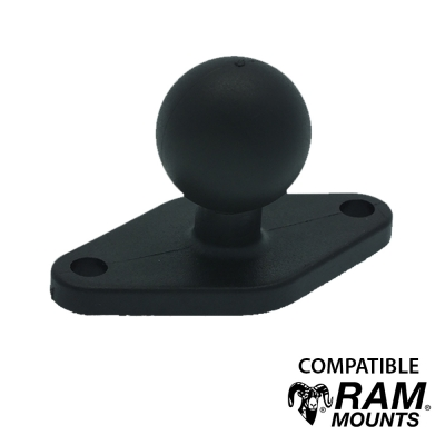 Base à visser Losange - Compatible RAM MOUNT