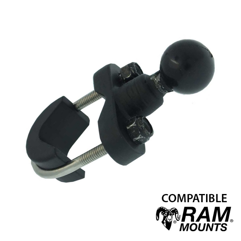 Base guidon en U - Compatible Ram mount