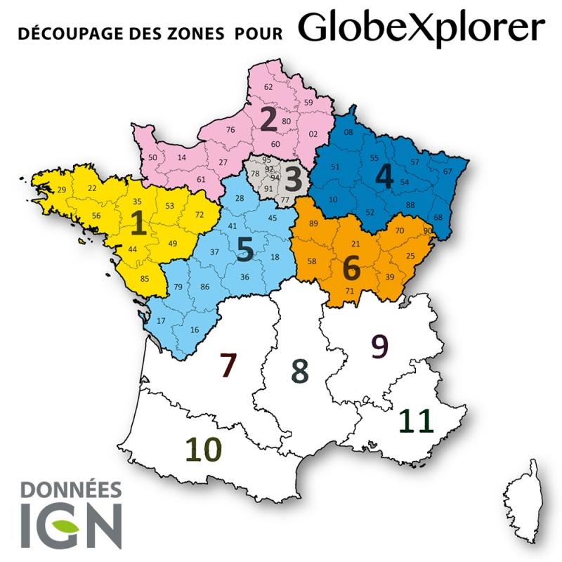 Demi France Nord 1:25 000 - GlobeXplorer