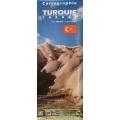 Turquie - carte papier - 1 : 1 500 000