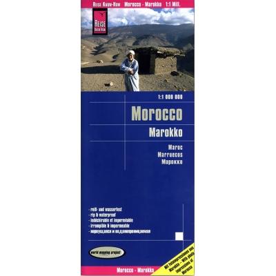 Maroc - carte papier - 1 : 1 000 000