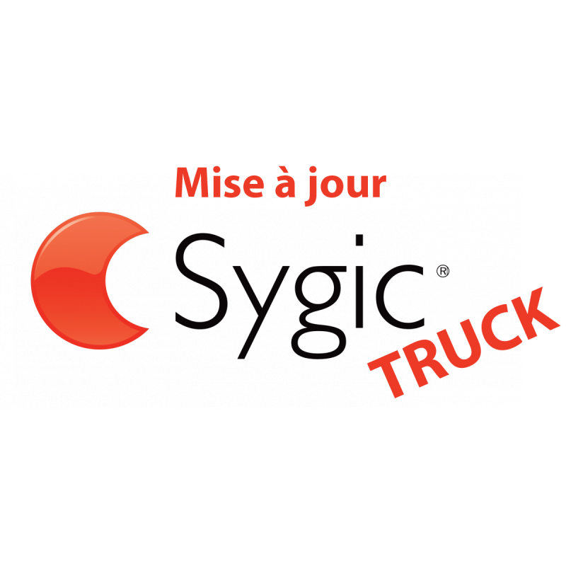 Mise à jour - Guidage Routier SYGIC Truck