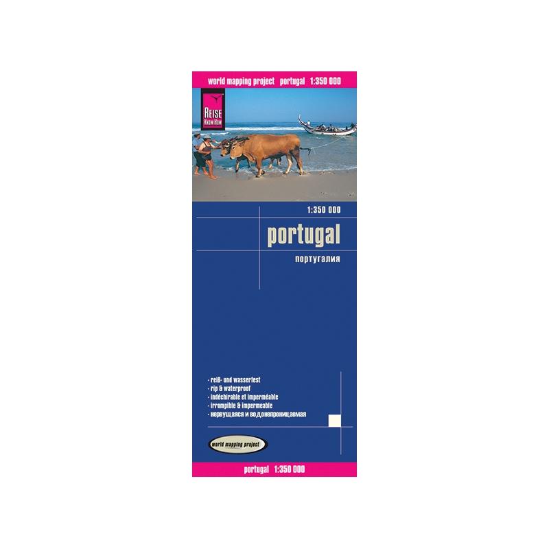 Portugal - carte papier - 1 : 350 000