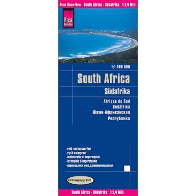 Afrique du Sud - carte papier - 1:1 400 000