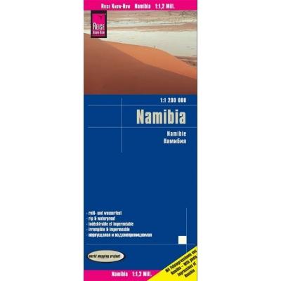 Namibie - carte papier - 1 : 1 200 000