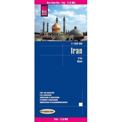 Iran - carte papier - 1 : 1 500 000
