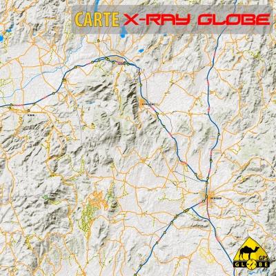 Turquie - X-Ray Globe - 1:100 000 TOPO Relief